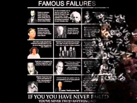 famous failures youtube famous failures of great personalities youtube