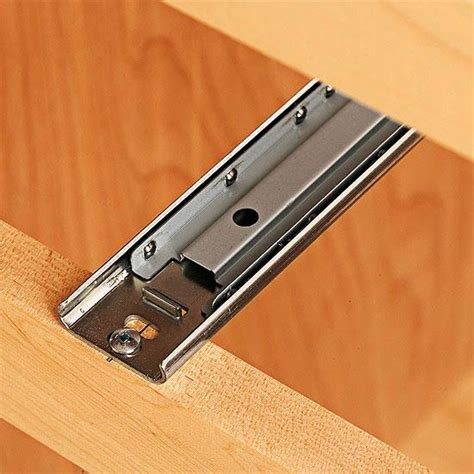 Installing Bottom Mount Drawer Slides by How To Install Bottom Mount Drawer Slides