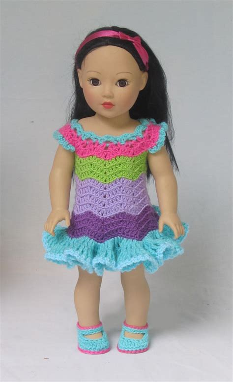 crochet pattern doll clothes 2274 best knitting crochet for 18 inch dolls images on
