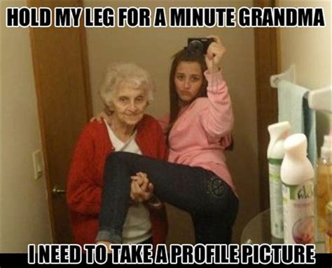 Meme For Grandmother - funny meme profile