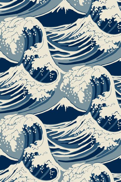 oriental pattern tumblr cole son great wave wallpaper ideas designs living