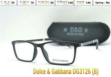 Kacamata Fashion Wanita Dolce Gabbana D G Murah Gaya 3 jual frame kacamata d g dolce gabbana dg3216 pria wanita baca minus kang otong frame