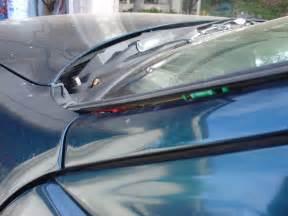 2002 Honda Civic Windshield Replacement Windshield Molding Broken Must Replace Team Integra