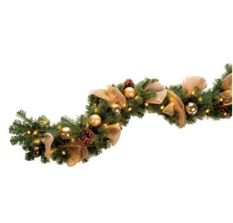 lighted outdoor garland lighted outdoor garland outdoor lighted garland sears