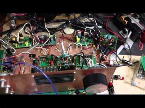 Dds Vfo Ad9850 Module Modul Lcd Oscillator Bitx Bixon vfo si570 by sp6fre and sp2dmb funnycat tv