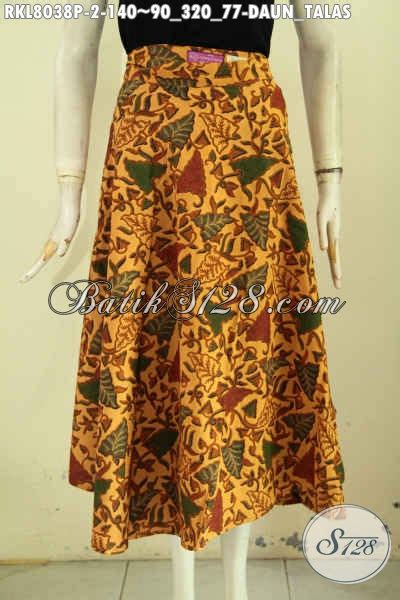 Rok Lilit Daun koleksi terkini rok batik wanita motif daun talas busana