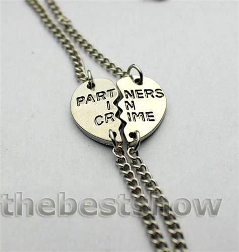 bracelets partners in crime bracelet best friends
