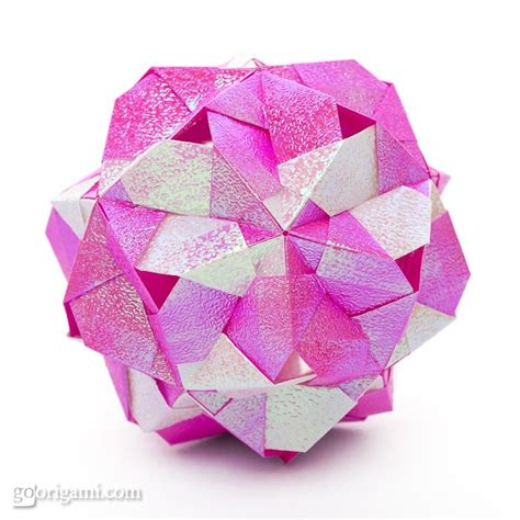 Modular Origami Models - modular origami models 28 images tropos kusudama by