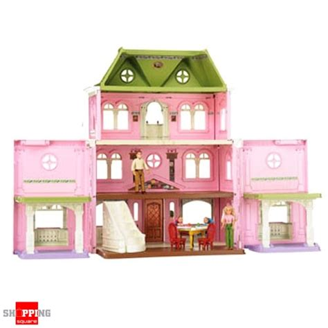 fisher price loving family grand dollhouse mega set