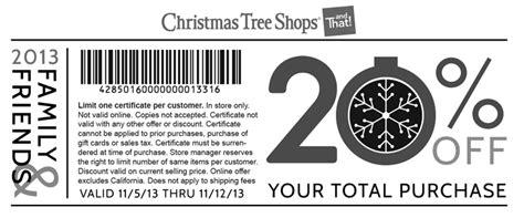 christmas tree shop printable coupons may 2015 christmas tree shops 20 off printable coupon