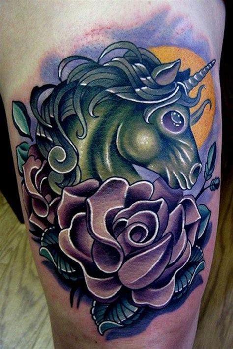 new school unicorn tattoo 48 impressive unicorn tattoos