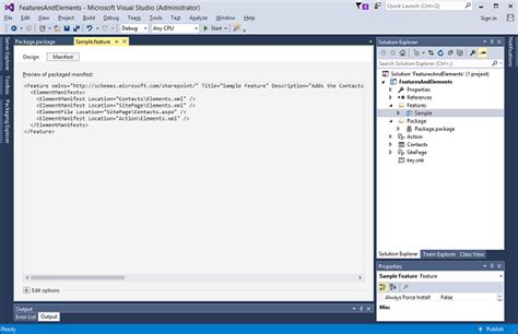 tutorialspoint powershell sharepoint packaging and deploying