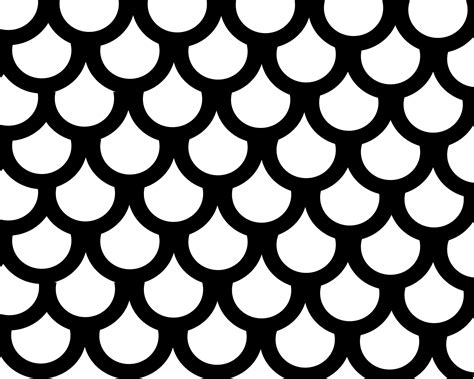 Outline Of A Fish Scale by Fish Scale Outline Images Search