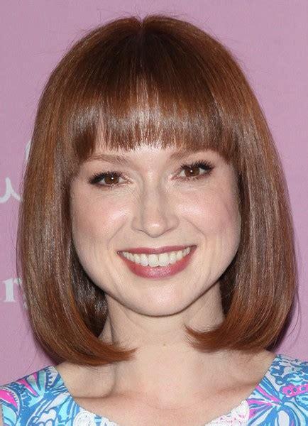 ellie kemper hair color in a box ellie kemper capless medium straight wig