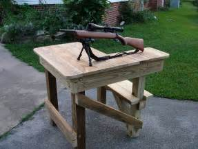 Homemade portable shooting bench plans home design ideas