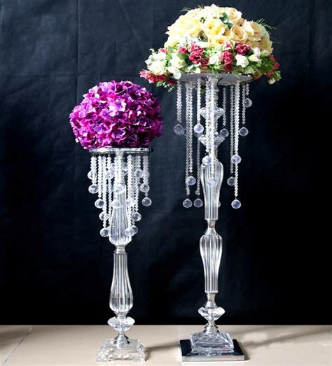 centerpieces with crystals centerpieces