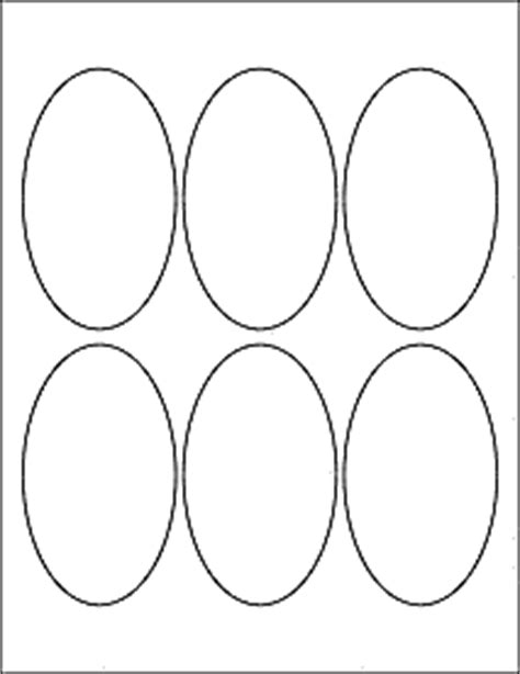 oval label templates oval labels oval stickers from onlinelabels ol895