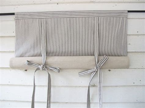 roll up window curtains 25 best ideas about tie up curtains on no sew