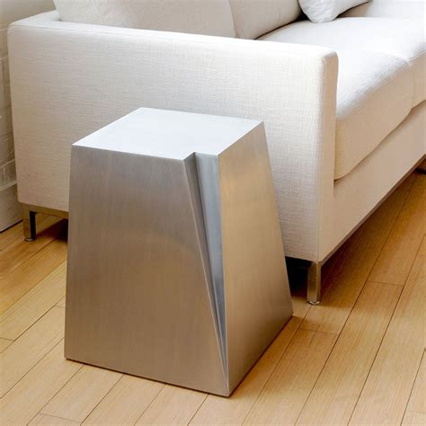 accent tables modern glacier end table accent tables gus modern