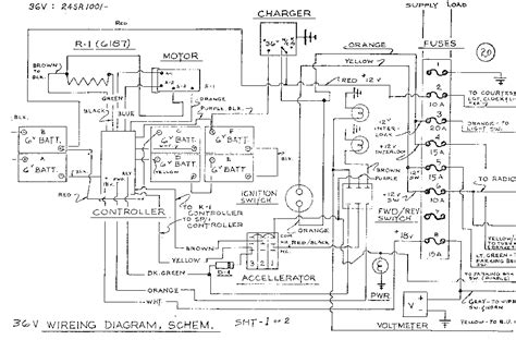 1976 ezgo wiring diagram 36v ez go cart wiring diagram