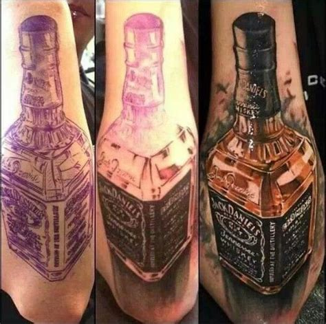 jack daniels tattoo drinks beverages tattoos