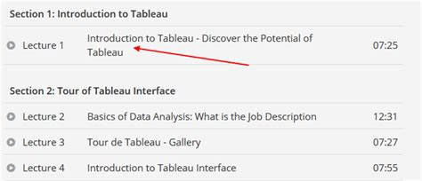 tableau tutorial udemy getting started with tableau