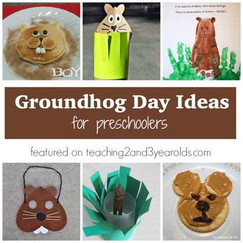 groundhog day kindergarten lesson plans 17 best images about teaching 2 and 3 year olds on