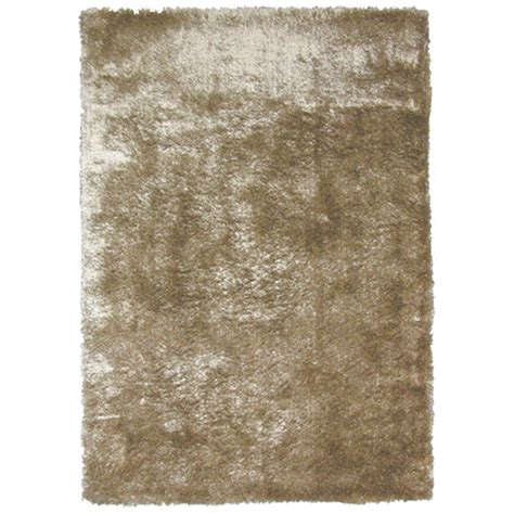 home decorators collection so silky sand polyester 4 ft x