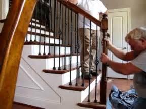 Stair Repair Kit by Interior Stair Repair September 15 2009 Youtube