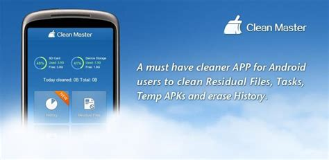 clean master app for android featured android app review clean master tools