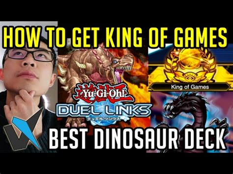best deck for ranked how to get king of best dino deck for ranked duel