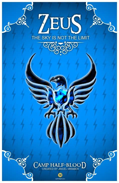 Zeus Cabin Percy Jackson by Chb Cabin Posters Zeus By Jimuelmaurer26 On Deviantart
