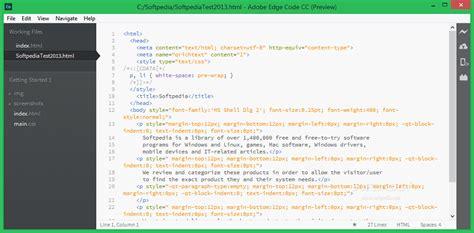 adobe edge code cc   preview