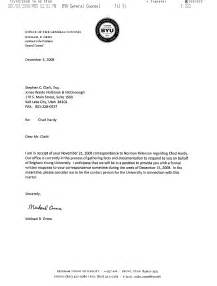 Business Letter Format For Reply Initial Response Letter From Byu Open Shirts Open Minds