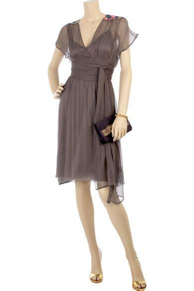 Matthew Williamson Lotus Chiffon Dress by Matthew Williamson Beaded Chiffon Dress Net A Porter