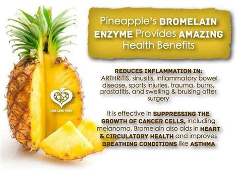Pineapple Detox Benefits by Pineapple Health Benefits Health And Nutrition