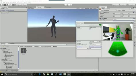 unity kinect tutorial windows unity kinect and kristina coding4fun kinect projects