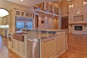 Island Sinks Kitchen Tremendous Kitchen Islands With Sinks And Single Handle Kitchen Faucets In Brushed Nickel Also