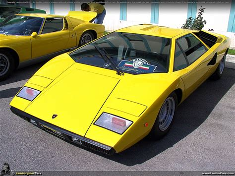 yellow lamborghini countach countach lp400 lp4001 hr image at lambocars com