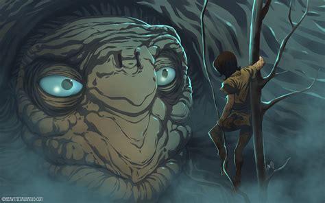 the neverending story the neverending story atreyu finds morla by heavymetalhanzo on deviantart
