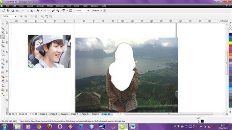 tutorial edit foto coreldraw tutorial coreldraw x4 merubah foto sendiri menjadi kartun