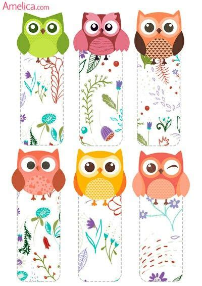 printable owl bookmarks 21606 best printables and freebies images on pinterest
