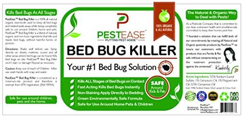 bed bug spray bed bug spray pet safe