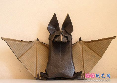 How To Make Bats Out Of Paper - image odyssey origami bat shewalkssoftly