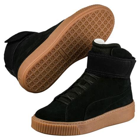 mid top sneakers womens womens platform mid ow mid top sneakers black