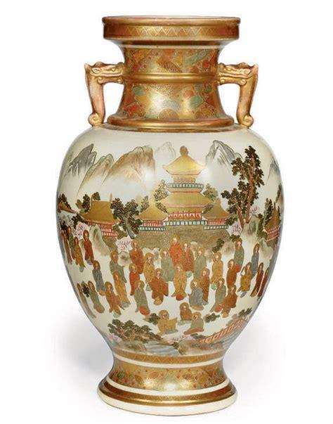 Japanese Satsuma Vase Value by A Large Japanese Satsuma Vase Early 20th Century