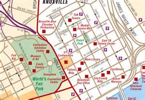 Map Of Knoxville Tennessee by Knoxville Tn Tourist Map Knoxville Tn Mappery