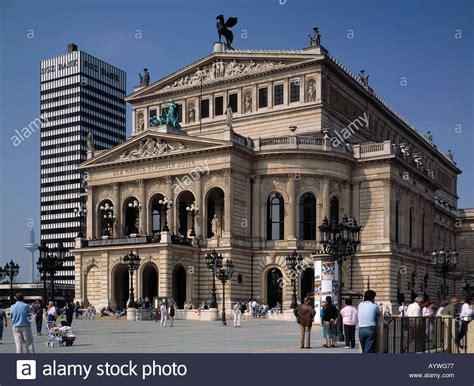 hessen bank sgz bank und alte oper in frankfurt am hessen