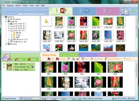How to Create Wedding Photo Slideshow and Upload Wedding