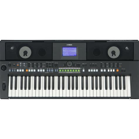 Keyboard Yamaha Psr S650 yamaha psr s650 61 key arranger workstation psrs650 b h photo